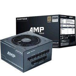PHANTEKS 追风者 AMP 额定550W 电源(80PLUS金牌/全模组/十年质保)