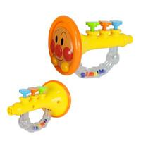面包超人Pinocchion玩具 儿童益智玩具 婴儿摇铃牙胶手摇铃宝宝新生婴儿玩具 小喇叭