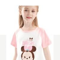 Disney 迪士尼 女童短袖T恤