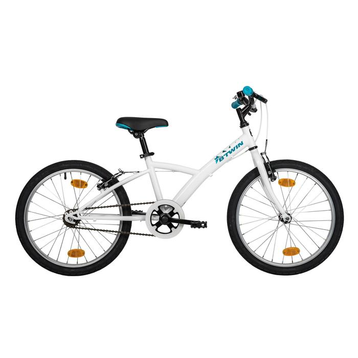 自行车运动单速降低式车架青少年20寸自行车 BTWIN single 100(需另购脚撑)