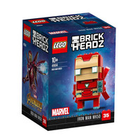 乐高(LEGO)大头公仔方头仔积木玩具 HEAD 41604 钢铁侠Mark50