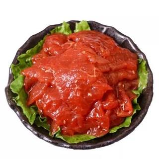 小卓 火锅麻辣牛肉片150g 生鲜原切调理麻辣牛肉 四川涮火锅食材 配菜 蔬菜 *12件
