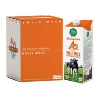 荷兰进口 乐荷(vecozuivel)有机a2全脂纯牛奶1L*4盒礼盒装