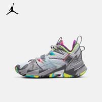 AJ 大童 AIR JORDAN WHY NOT ZER0.3 (GS) 篮球童鞋 CD5804 CD5804-100 35.5