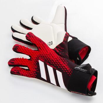 Adidas阿迪达斯守门员手套 成人儿童比赛训练手套专业足球门将手套 FH7297 【黑红】新款 7号