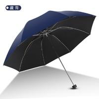 移动端 : Paradise 天堂伞 三折黑胶遮阳伞