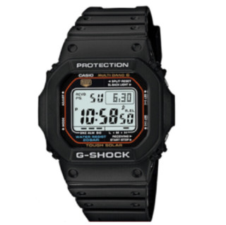 CASIO 卡西欧 G-SHOCK GW-M5610-1 男款电子表 47mm 不锈钢 方形 黑色