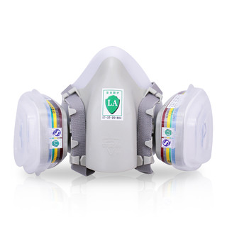 ASL 安爽利 720 尘毒一体式防护口罩 七件套
