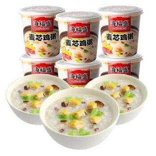 海福盛 FD冻干粥冲泡食品 33g*6杯 *6件