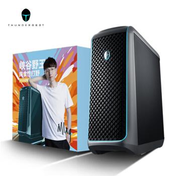 ThundeRobot 雷神 911黑武士三代 电脑主机(i7-10700、16GB、 256GB+1TB、GTX1660Super)