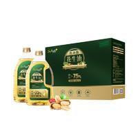 苏鲜生压榨一级高油酸花生油1.8L*2礼盒装 食用油 送礼佳品 粮油
