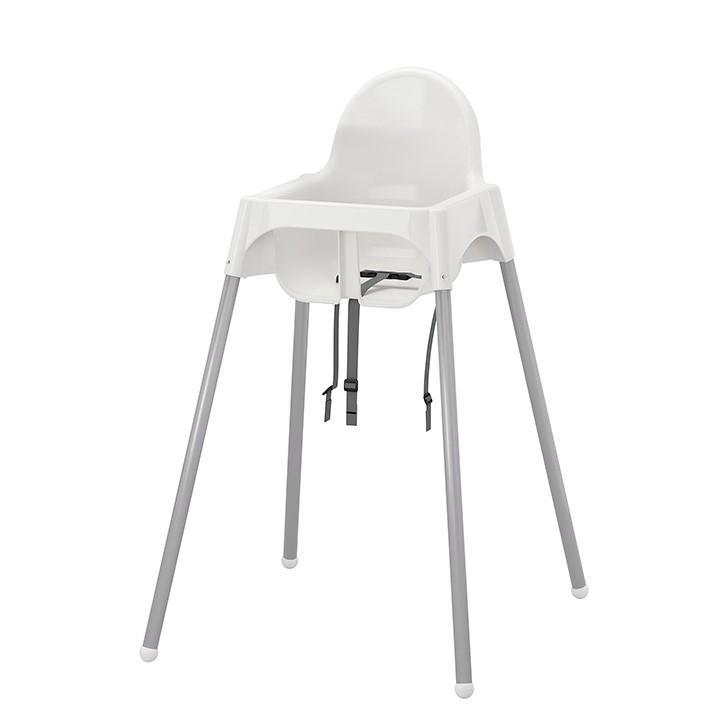 IKEA 宜家 IKEA00000886 安迪洛安全带儿童餐椅 承重15kg 白色