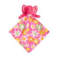 Barropeddi 婴儿口水巾毛绒玩具玩偶宝宝安抚巾3条装