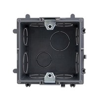 ABB AU565 86型通用暗装开关底盒 35只装