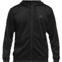 adidas 阿迪达斯 ESS SW FZHD18 男士运动卫衣 DN1420 黑色 M