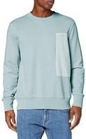 G-STAR RAW  D16890男士补丁口袋长袖纯棉运动衫