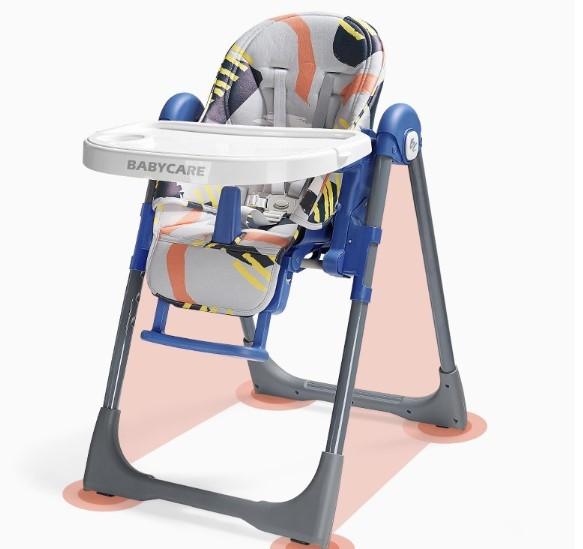 BabyCare 8500 輕便折疊餐椅 塔斯曼藍