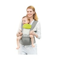 BabyCare 9826 透气款婴儿背带 安伯灰