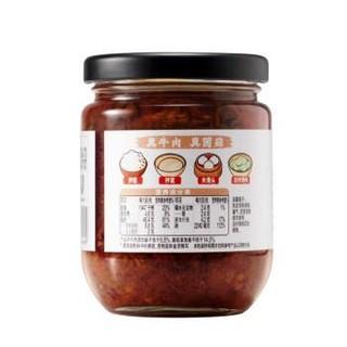 家乐 调味酱 饭光光香菇牛肉酱 200g *13件