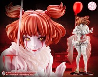 Kotobukiya 寿屋 HORROR美少女系列《小丑回魂》 潘尼怀斯 1/7手办