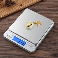 长协 精准家用厨房秤高精度电子秤0.01g天平克称食物烘焙秤 中文版3kg/0.1g