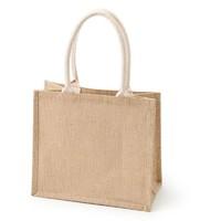 MUJI 无印良品 ECH21A0S 黄麻收叠购物袋