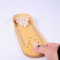 Zhiqixiong 稚气熊 迷你桌面保龄球套装