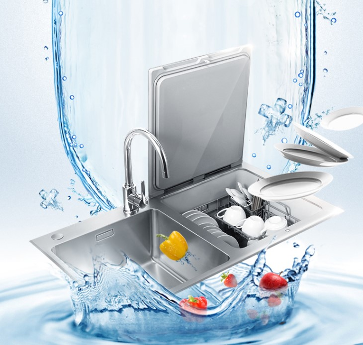 FOTILE 方太 JPSD2T-CJ03 嵌入式水槽洗碗机 黑色
