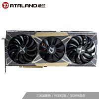迪兰(Dataland)RX 5600 XT 6G X战神 1615-1750 MHz/14Gbps 6GB/192-bit GDDR6 DX12 VR游戏显卡
