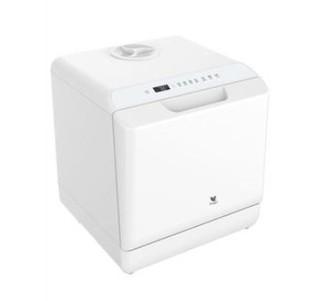 BUGU 布谷 BG-DC21 全自动洗碗机 白色 6套 (喷淋式、洗碗机、前开式、白)