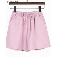 FONZE 枫紫 0194 女士短裤