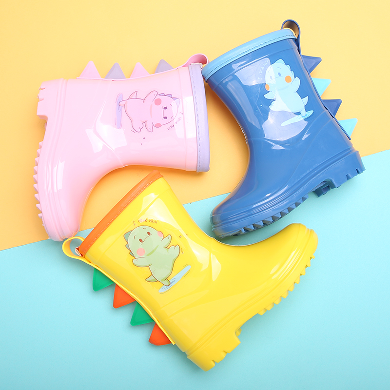 DRIPDROP 儿童防滑雨靴