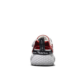 意尔康童鞋男童鞋子儿童运动鞋2019新款中大童单鞋ins超火老爹鞋ECZ9158638 红色 35