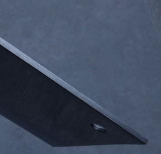 龙之艺 L107 不锈钢切片刀+刮皮刀 18cm