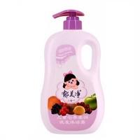 郁美净 儿童霜系列 儿童七果柔润洗发沐浴露 1kg