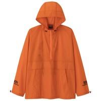 GU 极优 2001太空漫游合作系列男士连帽拉链长袖夹克324693 亮橙色M