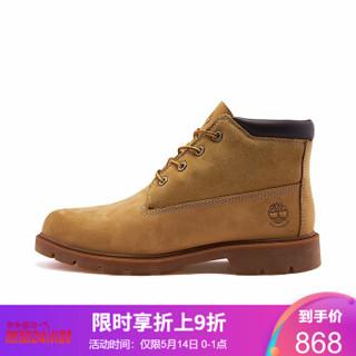 Timberland添柏岚男鞋户外经典防水中帮鞋靴|A1KAD A1KADW/小麦色 41.5