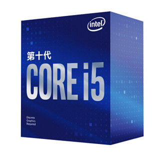 intel 英特尔 酷睿 i5-10400F 盒装CPU处理器 2.9GHz