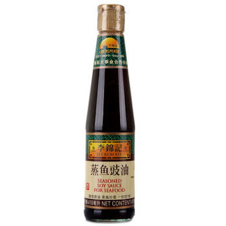 LEE KUM KEE 李锦记 蒸鱼豉油 功能酱油 清蒸调味炒菜调料 410ml *19件