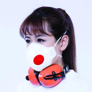DELTAPLUS 代尔塔 M1300VBC 防PM2.5带呼吸阀口罩 FFP3成人用 10只装