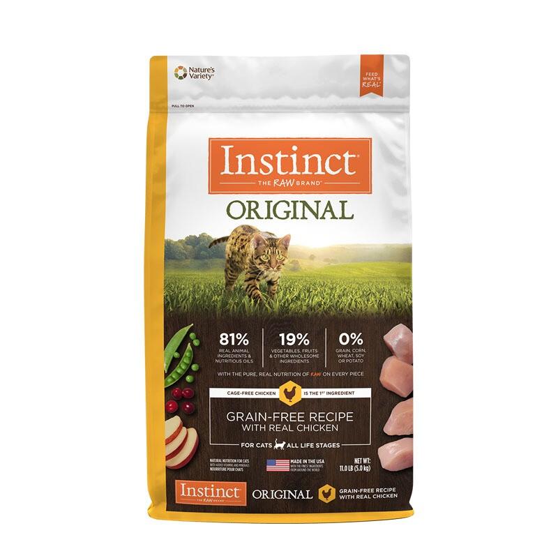 Instinct 百利 无谷鸡肉配方猫粮 4.99kg