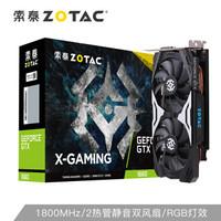 索泰(ZOTAC)GTX1660 X-GAMING OC PRO显卡/N卡/台式机/游戏/电竞/网课/绘图/设计/独立显卡/6G显存
