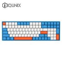 iQunix F96 96键 蓝牙无线机械键盘 Cherry红轴