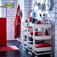 IKEA宜家RASKOG拉斯克手推车厨房置物架分类带轮小推车收纳
