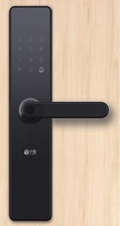 小益 E206系列 E206T 智能门锁 曜石黑 WiFi版