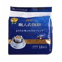 UCC 悠诗诗 滴漏式职人咖啡粉 圆润柔和 7g*18袋 蓝色包装