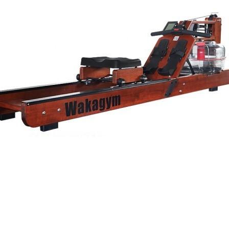 wakagym 哇咖 进口橡胶木 尊享款   划船机 专利5档调节