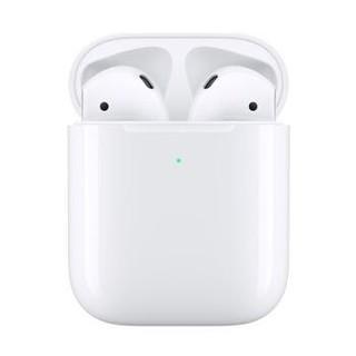 百亿补贴 : Apple 苹果 新AirPods(二代)真无线蓝牙耳机 有线充电盒版