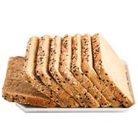 初吉 谷物黑麦代餐面包 40片 共1000g