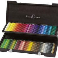 Faber-Castell 辉柏嘉 Polychroms 彩色铅笔 120色套装 木盒 110013 [日本正品]